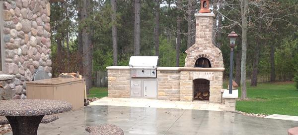 outdoor masonry